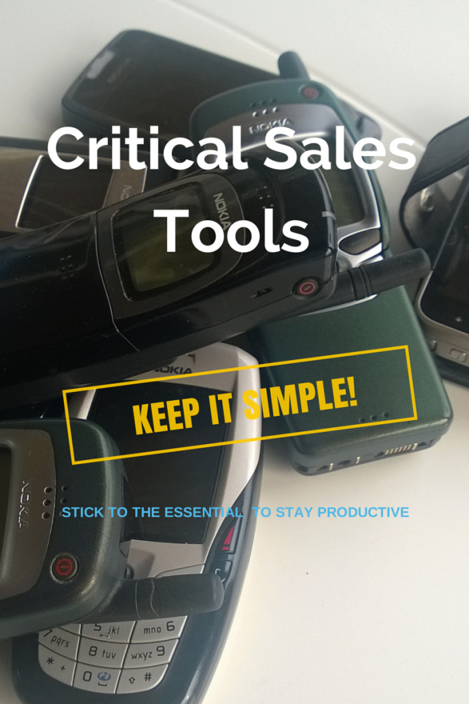 Critical Sales Tools